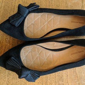Isabel Marant Poppy Black Suede Flats, 38
